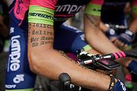 """Filippo """"Tattozzato"""" Pozzato (ITA/Lampre-Merida) <br /> <br /> stage 14: Rodez - Mende (178km)<br /> 2015 Tour de France"""