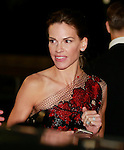 Hilary Swank at the Giorgio Armani 40th Anniversary fashion show and Silos Opening one day before Expo 2015, in Milan on April 30, 2015.