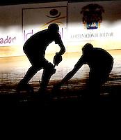 CARTAGENA – COLOMBIA 2013: Campeonato Mundial de Hockey SP que se realiza del 6 al 12 de octubre, en el  en el Coliseo de Combate y Gimnaia en la ciudad de Cartagena.  World Championship Hockey SP to be held from 6 to 12 October, at theCombate and Gimnasia Coliseum in Cartagena.  (Photos: VizzorImage / Luis Ramirez / Staff).