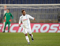 Calcio, Serie A: Roma vs ChievoVerona. Roma, stadio Olimpico, 22 settembre 2016.<br /> Chievo Verona's Jonathan De Guzman celebrates after scoring during the Italian Serie A football match between Roma and Chievo Verona, at Rome's Olympic stadium, 22 December 2016.<br /> UPDATE IMAGES PRESS/Isabella Bonotto