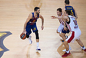 3rd November 2017, Palau Blaugrana, Barcelona, Spain; Turkish Airlines Euroleague Basketball, FC Barcelona Lassa versus Olympiacos Piraeus; 11 NAVARRO, JUAN CARLOS of FC Barcelona Lassa in action during the match of round 5 of regular season in the 2017/2018 Turkish Airlines EuroLeague