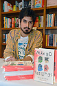 "Actor Avan Jogia read and sign copies of his poetry collection book ""Mixed Feelings: Poems & Stories"