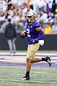 SEATTLE, WA - September 07: Washington's Aaron Fuller during the college football game between the Washington Huskies and the California Bears on September 07, 2019 at Husky Stadium in Seattle, WA. Jesse Beals / www.Olympicphotogroup.com