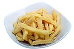 Patates fregides. Patates fritas