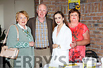 Bridie and Neily O'Mahony, Katie O'Connor and Yvonne McCarthy at the Tiernan Dineen fundraising dance in the Torc Hotel on Saturday night f