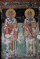 CHYPRE      le Troodos       12<br />ValŽe de la Solea    Galata<br />Eglise  Agios Sozomenos<br />Fresques - style post-byzantin