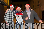 Maintenance Department of Bon Secours Hospital Christmas Night out on Friday were  Raymond Galvin, Chris Lynch, Eamon Carey