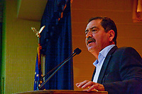 Randy Bryce from Caldeonia Wisconsin is the Democratic candidate for Wisconsin's 1st Congressional District. Speakers at the rally included Mark Pocan, Nina Turner, Angelina Cruz, Jesus 'Chuy' Garcia, and Vermont Senator Bernie Sanders.