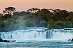 Sioma Falls, Zambezi River, western Zambia