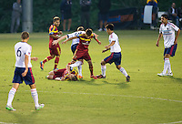 "Carson, Calif. - Saturday, July 18, 2015: The Chicago Fire defeat Real Salt Lake to win the 2014-15 U-18 US Soccer Development Academy Championship at Glenn ""Mooch"" Myernick Field at StubHub Center."