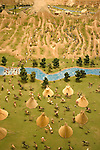 WY: Wyoming, Cody:.Display at Old West Miniature Village..Photo #: yellow762..Photo copyright Lee Foster, 510/549-2202, lee@fostertravel.com, www.fostertravel.com..