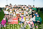 Dr Crokes winner's of the Keanes Supervalu Killorglin Minor Football League Finals Division 1 Final at Austin Stacks park on Friday against Austin Stacks