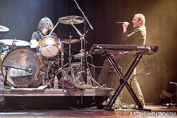 Live concert photo of Peter Murphy @ Club Nokia in Los Angeles by http://www.justingillphoto.com