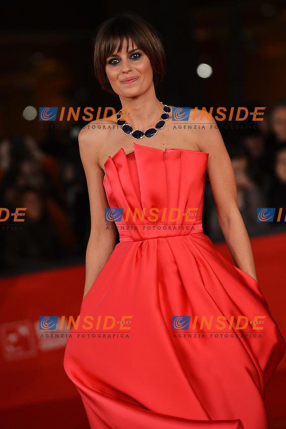 Claudia Pandolfi .Roma 9/11/2012 Auditorium.Festival del Cinema di Roma.Foto Guido Aubry Elipics