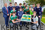 St Brendans College students are holding a Jersey day this Friday in aid of Spinal Injuries Ireland  front row l-r: Emmet O'Shea, Ian O'Connell and Mark Cooper. Back row: Hugh Rudden,Michael Horgan,  Eoin O'Sullivan, Padraig Looney, Diarmuid O'Donoghue, Michael Lenihan, Ryan O'Grady, Ruairi Doyle, Chris Carey, Evan Looney