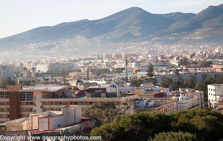 Melilla autonomous city state Spanish territory in north Africa, Spain