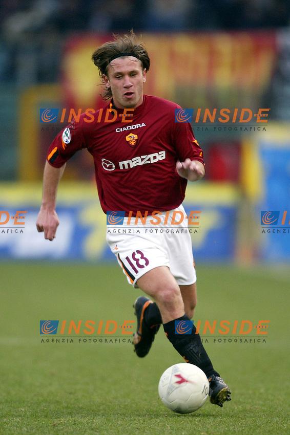 Roma 25/1/2004 <br /> Roma Udinese 1-1 <br /> Antonio Cassano (Roma)<br /> Foto Andrea Staccioli Insidefoto