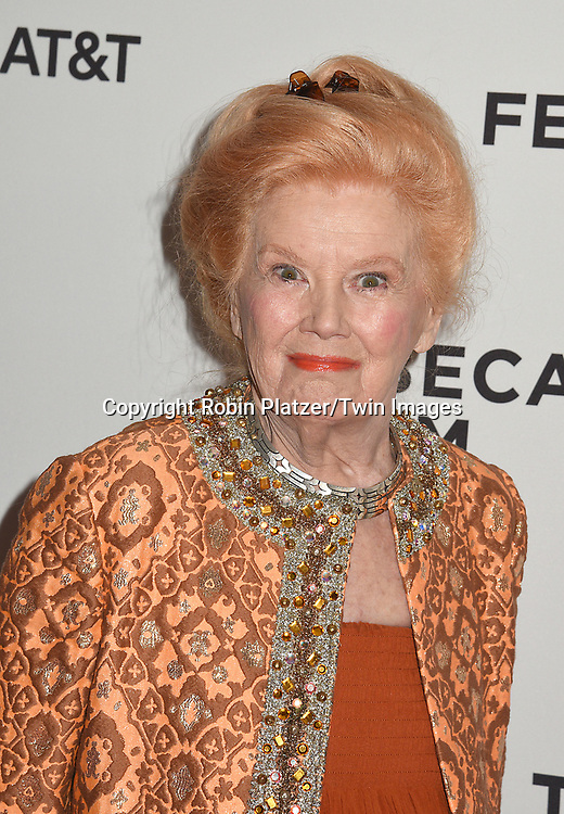 Kathleen Nolan attends the Dog Years&quot; screening at the Tribeca Film Festival on April 22, 2017 at Cinepolis Chelsea in New York, New York, USA.<br /> <br /> photo by Robin Platzer/Twin Images<br />  <br /> phone number 212-935-0770