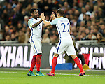 England's Aaron Cresswell comes on for Danny Rose during the friendly match at Wembley Stadium, London. Picture date November 15th, 2016 Pic David Klein/Sportimage