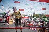 Primoz Roglic (SVK/Jumbo-Visma) signing in<br /> <br /> Stage 8: Valls to Igualada (167km)<br /> La Vuelta 2019<br /> <br /> ©kramon