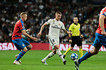 Real Madrid's Toni Kroos during UEFA Champions League match between Real Madrid and FC Viktoria Plzen at Santiago Bernabeu Stadium in Madrid, Spain. October 23, 2018. (ALTERPHOTOS/A. Perez Meca)