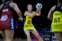 Pulse captain Katrina Grant in action during the ANZ Premiership netball match between the Central Pulse and Mainland Tactix at TSB Bank Arena in Wellington, New Zealand on Monday, 14 May 2018. Photo: Dave Lintott / lintottphoto.co.nz