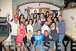 "0715-0718.---------.29 and a bit.------------.Michael""cookie""Conway(seated centre)from Marian Pk,Tralee,had great craic at his 30th birthday party last Saturday night in Dowdies bar,Boherbue,Tralee."