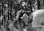 1978-lipiec-sierpień, Otwock - Orzysz. Szkoła Oficerów Rezerwy (SOR) obowiązkowe szkolenie wojskowe absolwentów wyższych uczelni cywilnych. Nz. szkolenie w zakresie łączności.