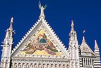 Italien, Toskana, Siena, Dom Santa Maria Assunta, Detail, Unesco-Weltkuturerbe