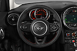 Car pictures of steering wheel view of a 2019 MINI Hardtop-4-Door Cooper-S 5 Door Hatchback Steering Wheel