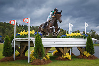 AUS-Christopher Burton rides Cooley Lands during the Cross Country for the FEI World Team and Individual Eventing Championship. 2018 FEI World Equestrian Games Tryon. Saturday 15 September. Photo Credit: Julie Butson. Copyright Photo: Libby Law Photography
