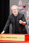 Ridley Scott hand and footprint ceremony