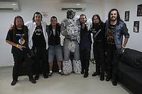 SÃO PAULO, 13.09.2014 - MAD OLD LADY- HSBC BRASIL - A banda Mad Old Lady fez a apresentação de abertura para a Tarja no HSBC Brasil, região sul de São Paulo<br /> (Fotos: Flavio Hopp/Brazil Photo Press)