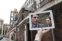 Pictured: Filming of Torchwood with John Barrowman in Cardiff<br />
