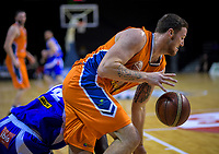 Tom Vodanovich (Sharks) in action during the national basketball league final  between Wellington Saints and Southland Sharks at TSB Bank Arena in Wellington, New Zealand on Sunday, 5 August 2018. Photo: Dave Lintott / lintottphoto.co.nz