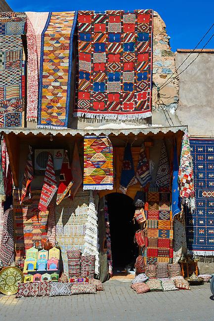 Shops of the Medina Kasbah, Marrakesh, Morroco