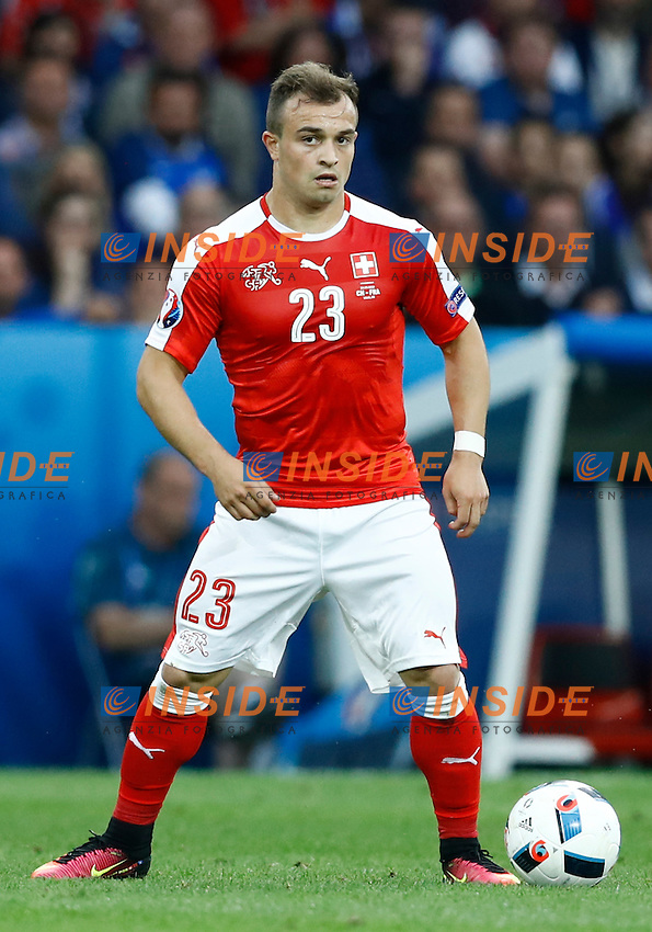 Xerdan Shaqiri Switzerland<br /> Lille 19-06-2016 Stade Pierre Mauroy Footballl Euro2016 Switzerland - France  / Svizzera - Francia Group Stage Group A. Foto Matteo Ciambelli / Insidefoto