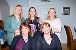 """Enjoying a family night out in Bella Bia are all the girls of the """"ward"""" family from Abbeydorney and Tournafulla Co Limerick.In the picture is Paula,Deliha,Moranda,Juliette, and Niamh Ward"""