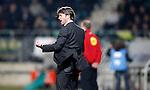 Nederland, Den Haag, 12 april 2012.Seizoen 2011-2012.Eredivisie.ADO Den Haag-FC Groningen.Pieter Huistra, trainer-coach van FC Groningen