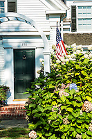 Quaint colonial house, Chatham, Cape Cod, Massachusetts, USA
