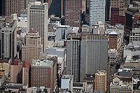 aerial photograph Union Square San Francisco, California