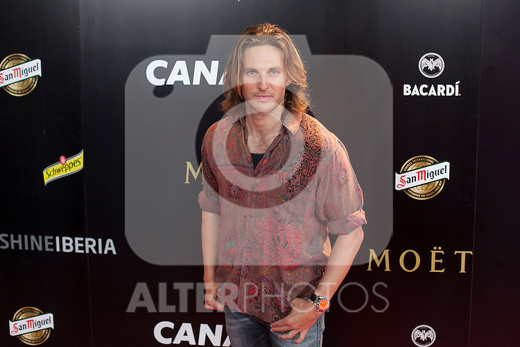 Alex Hafner poses during Pacha `El arquitecto de la noche´ film premiere in Madrid, Spain. May 25, 2015. (ALTERPHOTOS/Victor Blanco)