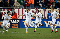 USA Men vs. El Salvador, Raymond James Stadium, Tampa, Fla, 2-1 over El Salvador, Wednesday, Feb., 24, 2010. ..