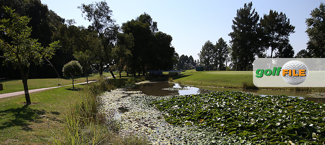View from the back of the 8th during Round Three of the Tshwane Open 2015 at the Pretoria Country Club, Waterkloof, Pretoria, South Africa. Picture:  David Lloyd / www.golffile.ie. 14/03/2015