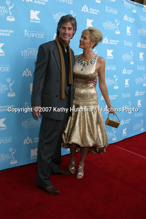 Ronn Moss & Katherine Kelly Lang.Creative Arts Daytime Emmys 2007.Hollywood & Highland Ballroom.Los Angeles, CA.June 14, 2007.©2007 Kathy Hutchins / Hutchins Photo....