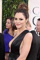 BEVERLY HILLS, CA - JANUARY 13: Katharine McPhee at the 70th Annual Golden Globe Awards at the Beverly Hills Hilton Hotel in Beverly Hills, California. January 13, 2013. Credit MediaPunch Inc. /NortePhoto
