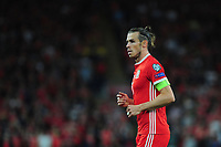 Gareth Bale of Wales during the UEFA Euro 2020 Qualifier match between Wales and Azerbaijan at the Cardiff City Stadium in Cardiff, Wales, UK. Friday 06, September 2019