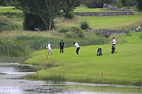 TJ Ford (Co.Sligo) on the 18th during the Final of the AIG Barton Shield in the AIG Cups & Shields Connacht Finals 2019 in Westport Golf Club, Westport, Co. Mayo on Saturday 10th August 2019.<br /> <br /> Picture:  Thos Caffrey / www.golffile.ie<br /> <br /> All photos usage must carry mandatory copyright credit (© Golffile | Thos Caffrey)
