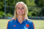 AMSTELVEEN - MARIEKE DIJKSTRA , Nederlands team dames op weg naar de HWL. COPYRIGHT KOEN SUYK