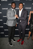 07 March 2018 - Culver City, California - Curtis &quot;50 Cent&quot; Jackson, Cory Hardrict<br /> . &quot;The Oath&quot; TV Series Los Angeles Premiere held at Sony Pictures Studios.   <br /> CAP/ADM/FS<br /> &copy;FS/ADM/Capital Pictures